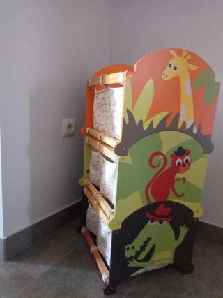 Almacenaje para habitación infantil
