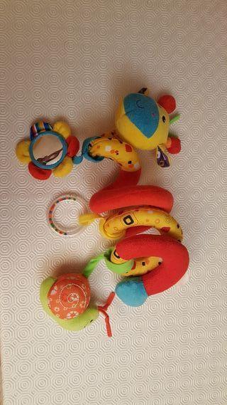 Espiral para carro de bebé
