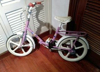 Bici BH Happy plegable color lila