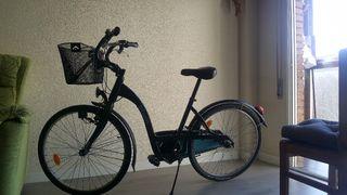 Bicicleta de paseo Btwin Elops