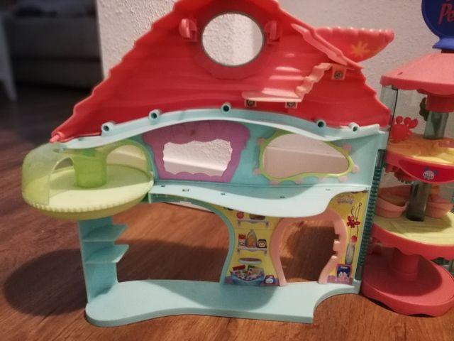 littlest pet shop casa y Jardin