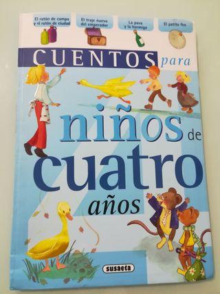 Libro de Cuentos para niños de 4 años