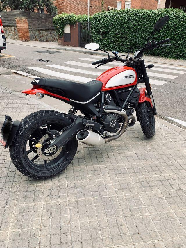 Ducati scrambler icon 2018