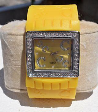 Reloj D&C amarillo