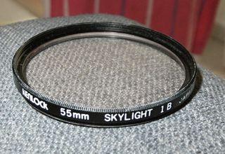 Filtro Kenlock Skylight 1 B para 55mm diametro