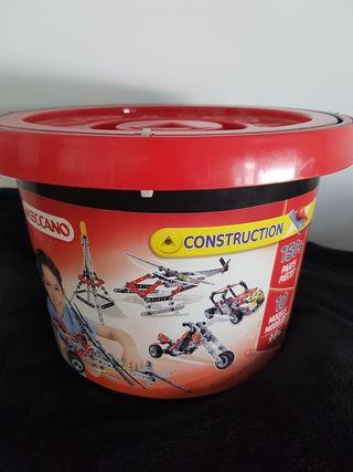 Cubo 150 piezas Meccano Construcción