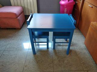 mesa de juego infantil