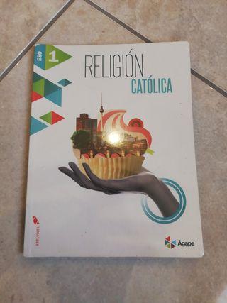 Libro de Religión Católica 1 ESO