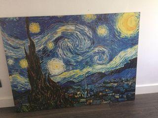 Cuadro noche estrellada Van Gogh