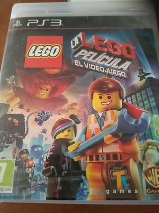 juego play 3, Lego la película