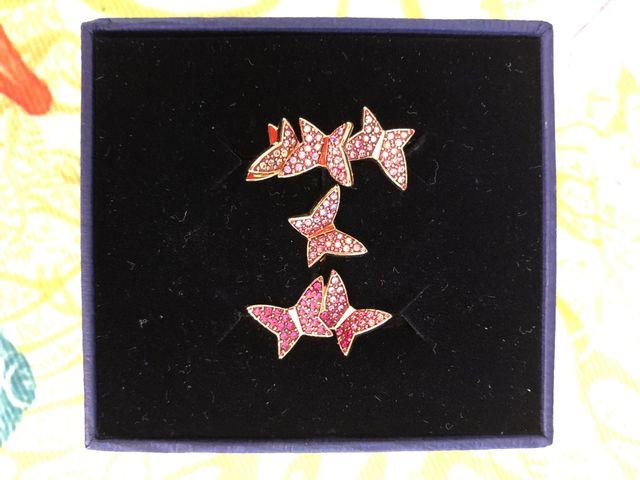 Conjunto anillos Lilia de Swarovski
