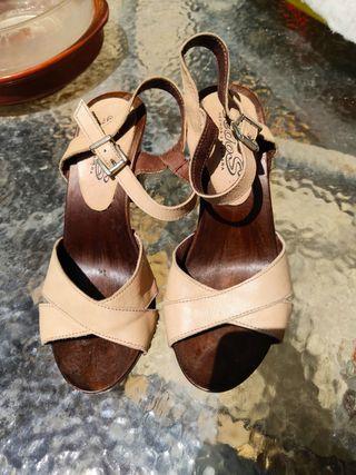 Sandalias verano de tacón alto
