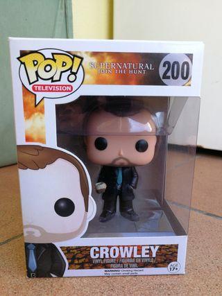 Funko pop Crowley supernatural