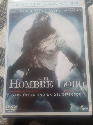 """Película DVD """"El Hombre Lobo"""""""