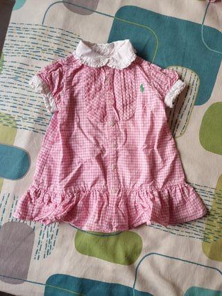 vestido Ralph Lauren bebe