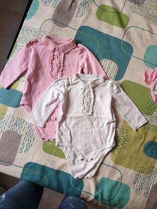 Bodys Ralph Lauren bebe 9 meses