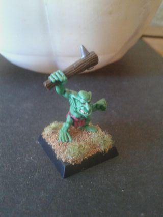 Figura pintada warhammer