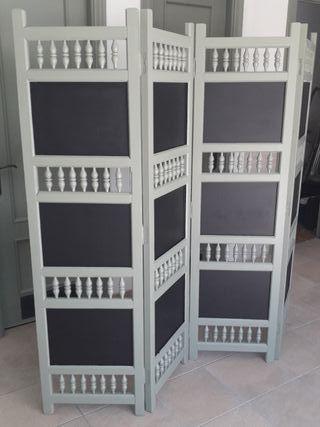 Biombo separador vintage