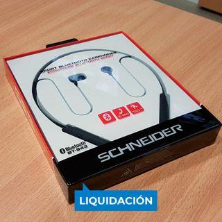 Auriculares inalámbricos Schneider BT943 ¡NUEVOS!