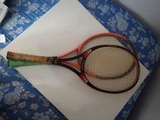 pareja de raquetas