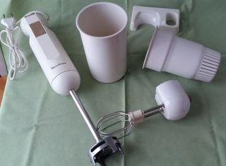 Batidora brazo Moulinex, accesorios pastelería