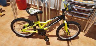 bici monty para niños