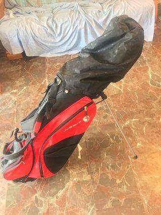Juego palos golf para zurdo y bolsa