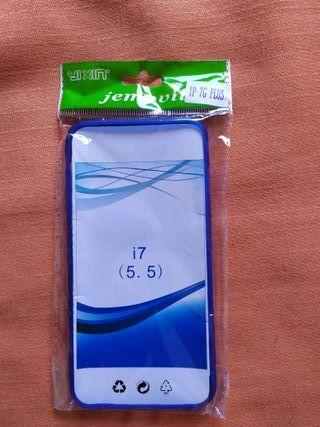 Funda azul iphone 7/8 plus