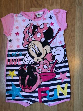 Pele Disney Minnie talla 6 meses