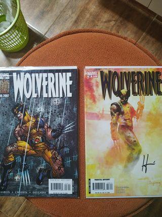 Wolverine #56 y #58 firmados Howard Chaikyn