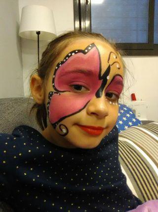pintacaras, maquillaje infantil económico