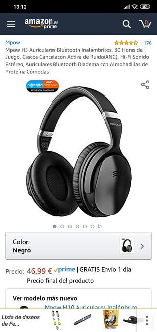 Auriculares Mpow H5