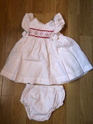 Vestido talla 3 - 6 meses