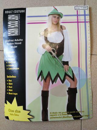 disfraz mujer Robin hood
