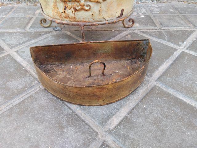 Paragüero de forja antiguo / vintage