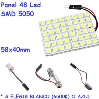 Panel 48 Led Universal Coche Interior Maletero