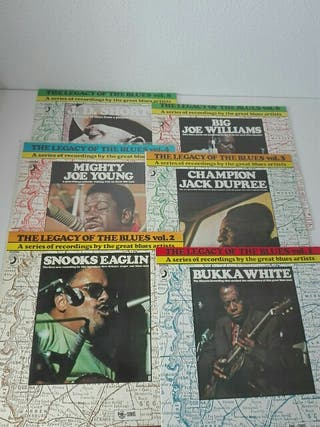 PACK 6 THE LEGACY OF THE BLUES - DISCOS VINILO LP