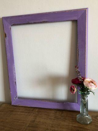 Marco violeta decapado 48 x 57