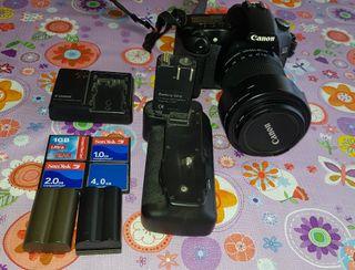 Equipo Canon EOS 30D en perfecto estado