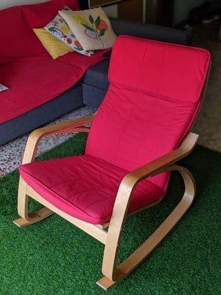 silla Mecedora IKEA Poäng