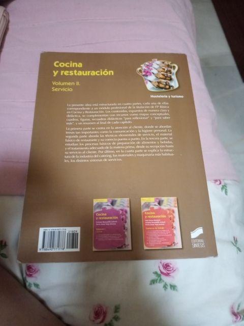 libro de cocina y restauracion