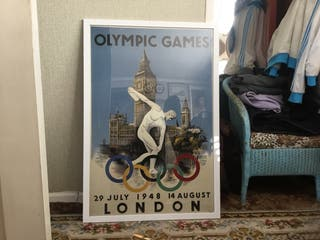Olympic Games 1948 London poster