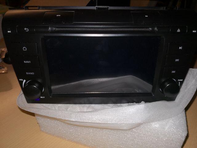 Radio de Mazda 2003-09 nueva con todos sus extras