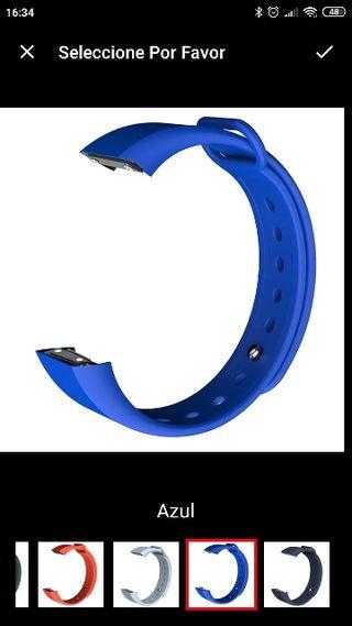 recambio pulsera amazfit cor