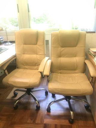 2 sillones dirección silla oficina estudio