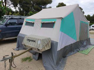 Remolque Comanche , carro tienda , caravana