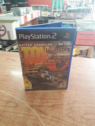 JUEGO PS2 RC TOY MACHINES