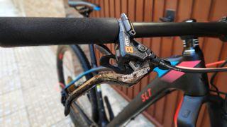 bicicleta montaña cube tope de gama