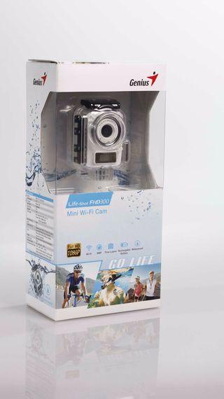 Cámara Genius Life-Shot FHD300 Wi-Fi (Tipo Gopro)