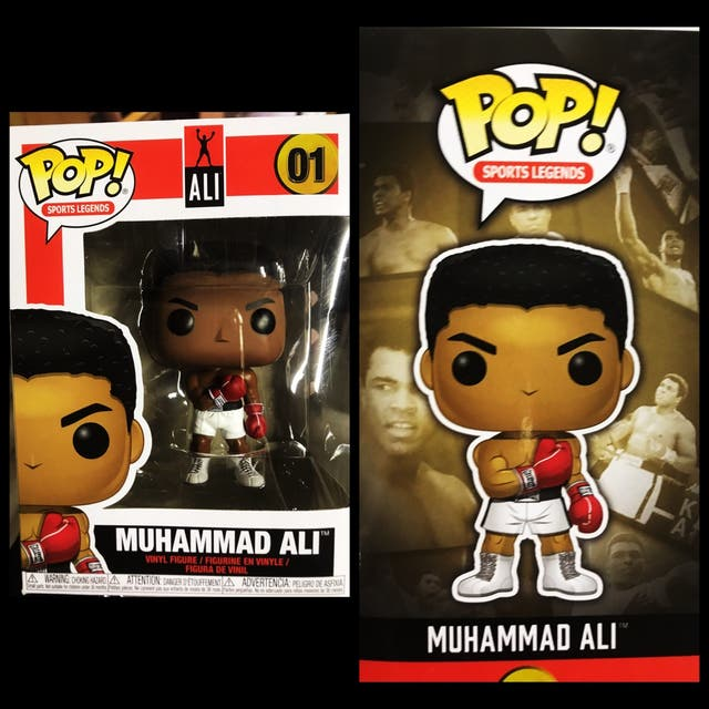 Funko pop Muhammad Ali